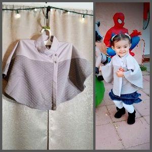 Max Studio Poncho Coat Gray size 18 months